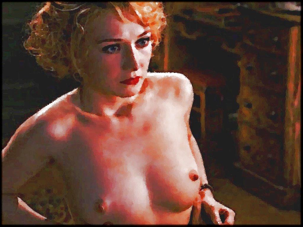 Carice van Houten Aid Black Book Topless